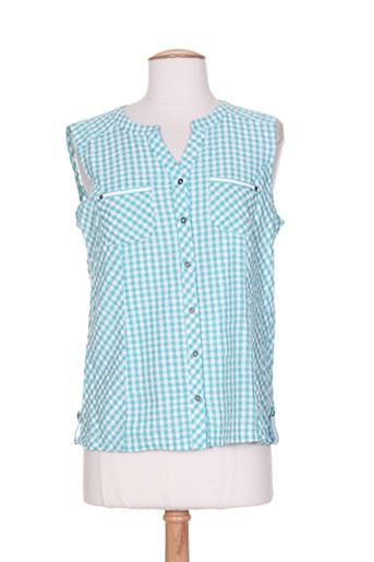 l'atelier d'anna chemises femme de couleur bleu