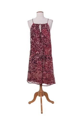 garcia robes et mi et longues femme de couleur rose