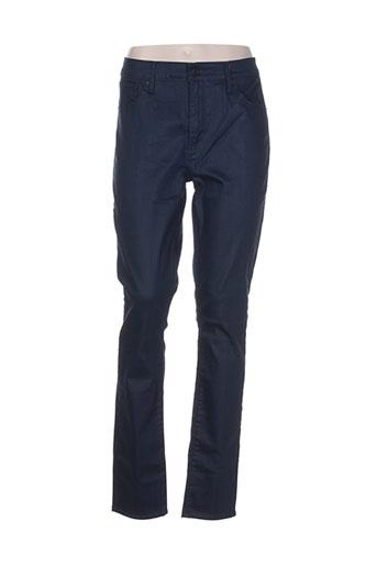 levis pantalons et decontractes femme de couleur bleu