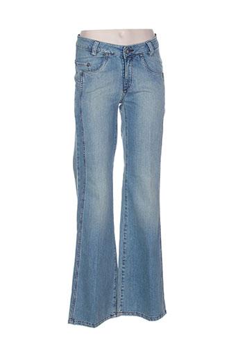 laita jeans femme de couleur bleu
