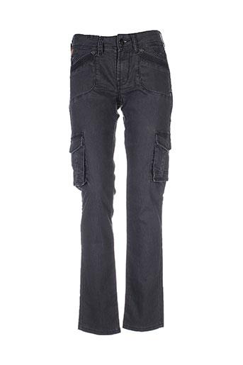 lois pantalons femme de couleur noir