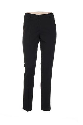 piment rouge pantalons femme de couleur noir