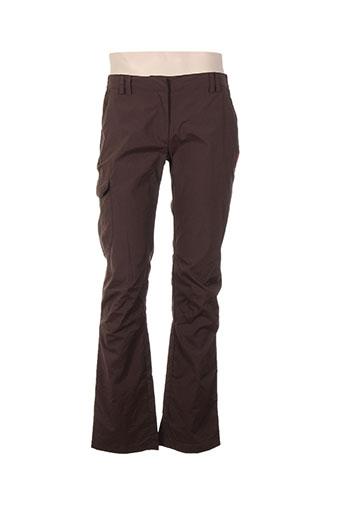 lafuma pantalons et decontractes femme de couleur marron