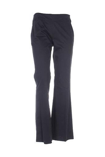 bosca pantalons femme de couleur noir