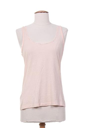 des petits hauts t-shirts femme de couleur rose