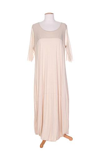 coccapani robes femme de couleur beige