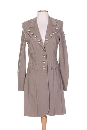 airfield manteaux femme de couleur marron