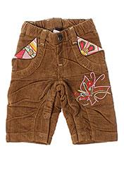 Pantalon casual marron LA TRIBBU pour fille seconde vue