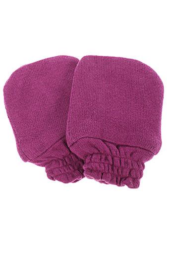 Gants violet LA TRIBBU pour enfant