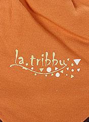 Bonnet orange LA TRIBBU pour garçon seconde vue