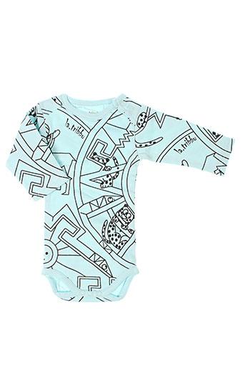 la tribbu t et shirts et tops enfant de couleur bleu