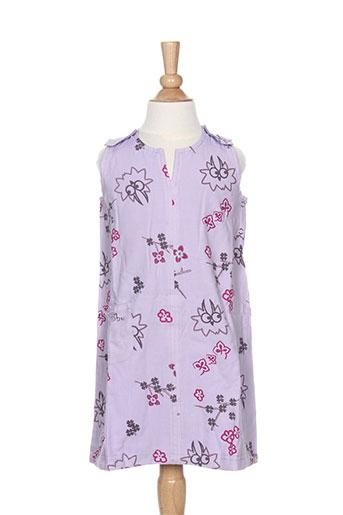 Robe mi-longue violet LA TRIBBU pour fille