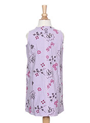 Robe mi-longue violet LA TRIBBU pour fille seconde vue