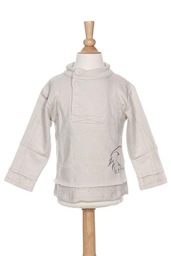 Sweat-shirt gris LA TRIBBU pour garçon