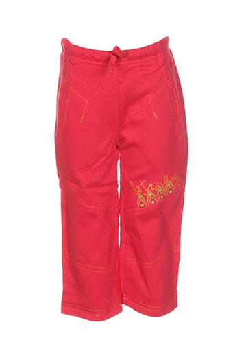 Pantalon casual rouge LA TRIBBU pour garçon