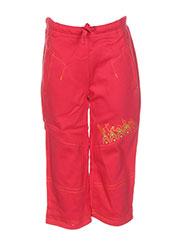 Pantalon casual rouge LA TRIBBU pour garçon seconde vue