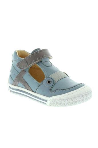 la tribbu chaussures garçon de couleur bleu