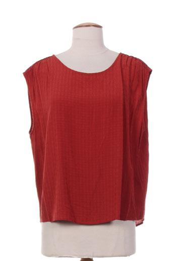bellerose tops femme de couleur rouge