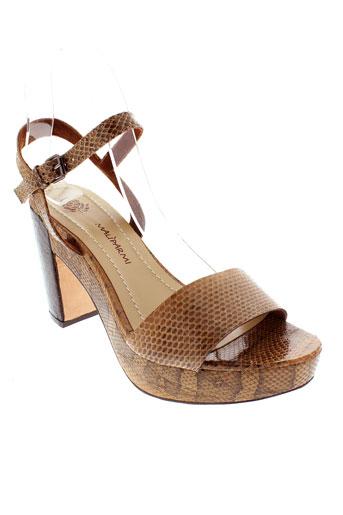 maliparmi sandales et nu et pieds femme de couleur marron