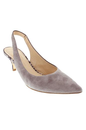 kennel et und et schmenger escarpins femme de couleur gris