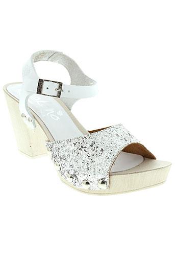 yokono sandales et nu et pieds femme de couleur blanc
