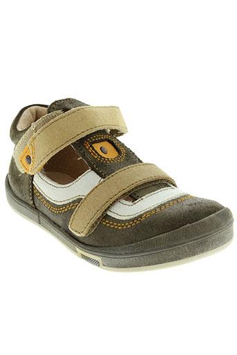 minibel chaussures garçon de couleur vert