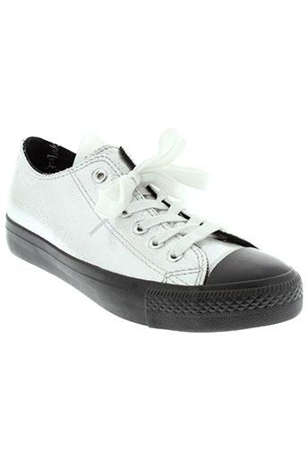 happy luck chaussures femme de couleur gris