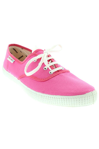victoria baskets femme de couleur rose