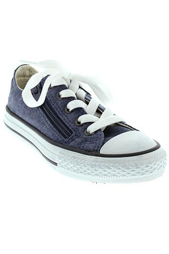 converse baskets garcon de couleur bleu