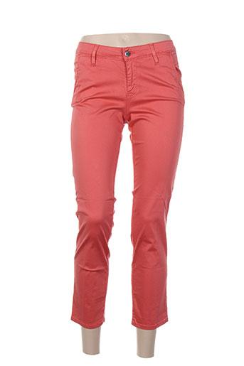 kanope pantacourts femme de couleur orange