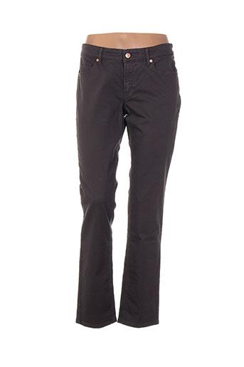 escada pantalons femme de couleur gris