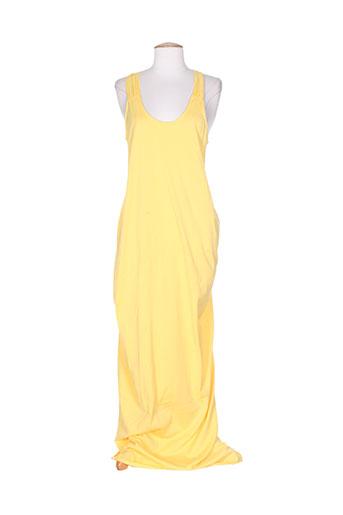 drolatic robes femme de couleur jaune