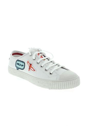 paul smith chaussures femme de couleur blanc