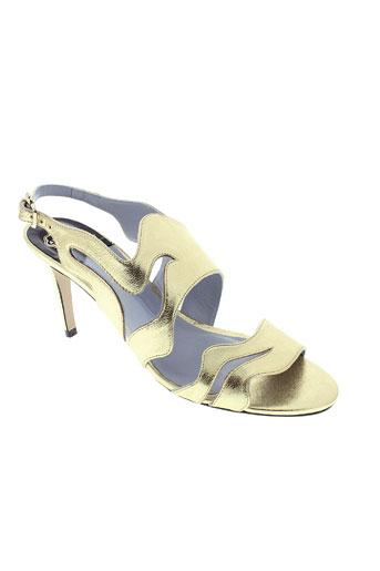 apologie chaussures femme de couleur jaune