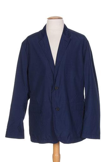 kenzo manteaux homme de couleur bleu