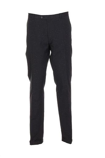 marchand drapier pantalons homme de couleur noir