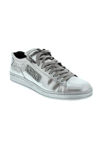 kenzo chaussures homme de couleur gris