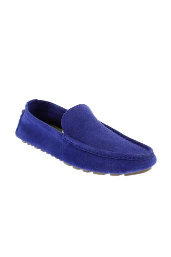kenzo chaussures homme de couleur bleu