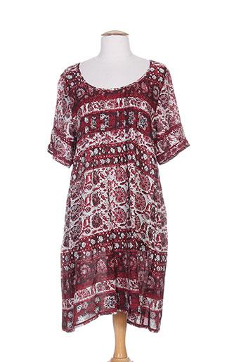 massana robes femme de couleur rose