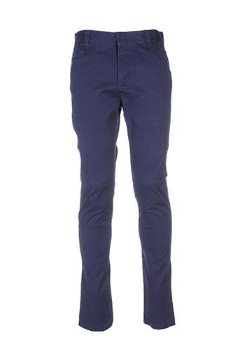 wesc pantalons et decontractes homme de couleur bleu