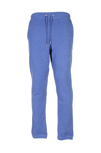 wesc pantalons homme de couleur bleu