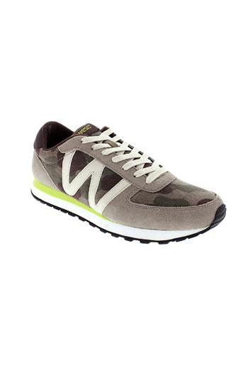 wesc chaussures homme de couleur beige