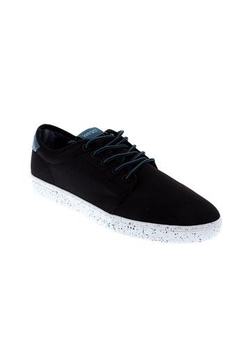 wesc chaussures homme de couleur noir