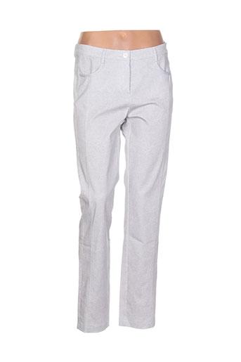 frank et walder pantalons et decontractes femme de couleur gris