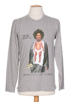 Produit-T-shirts-Homme-BLU MEN