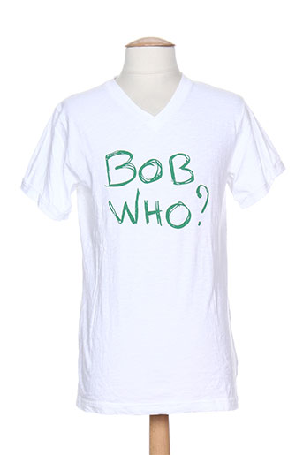 bob sinclar t-shirts homme de couleur blanc