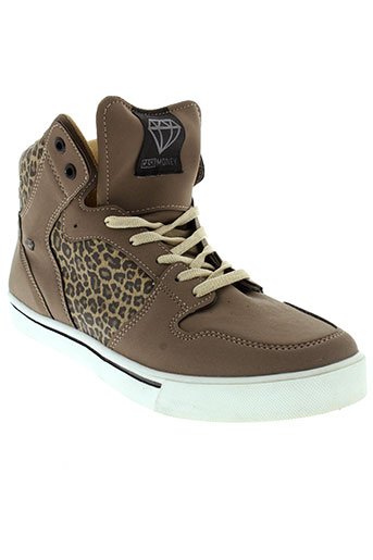 cash money chaussures homme de couleur marron