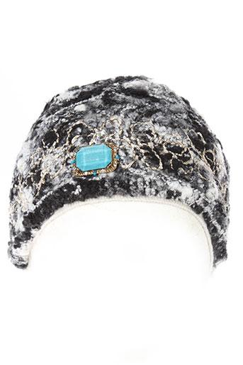 daniela et dallavalle chapeaux et bonnets femme de couleur noir