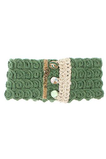 daniela et dallavalle chapeaux et bonnets femme de couleur vert