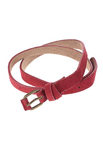 sandwich accessoires femme de couleur rouge